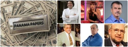 Periodistas, políticos, empresarios y hasta cocineros aparecen en las filtraciones de la firma Mossack Fonseca.